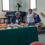 Irene and Bobbi picking the raffle winners.