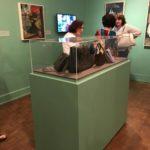 Enjoying the museum …